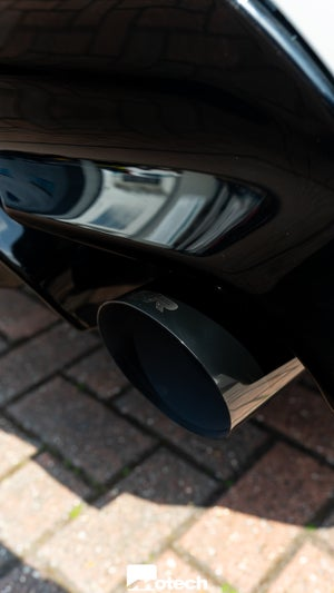 Image of Remus Black Chrome 102mm Tail Pipes