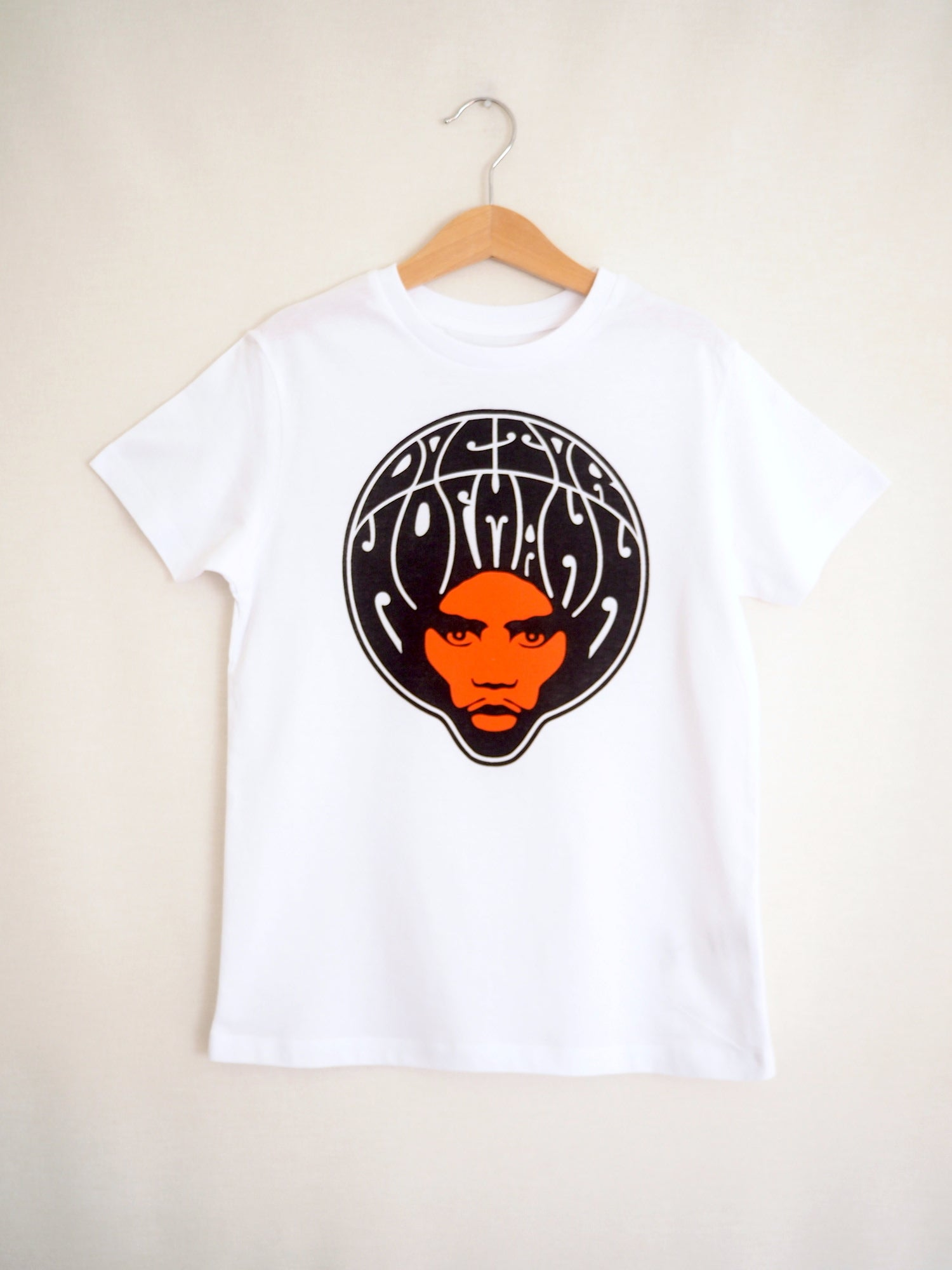 "Image of Kids ""AFRO"" Tee - Organic Cotton - White"