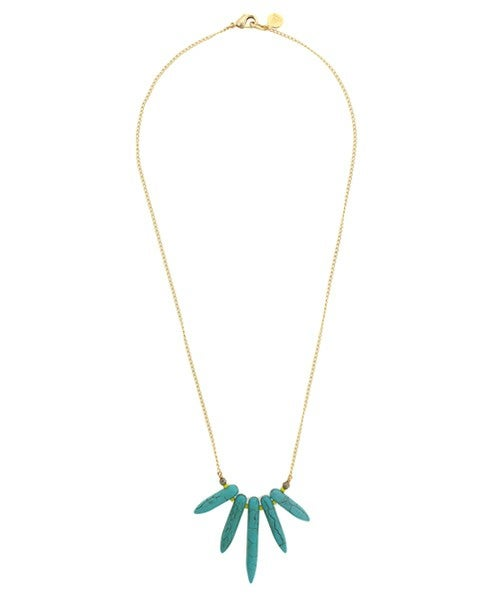 Image of PETITE STARBURST necklace
