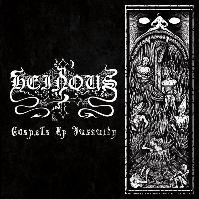 Image of Heinous- Gospel of Insanity CD