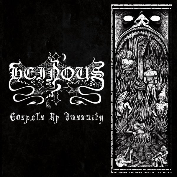 Image of Heinous- Gospel of Insanity CD