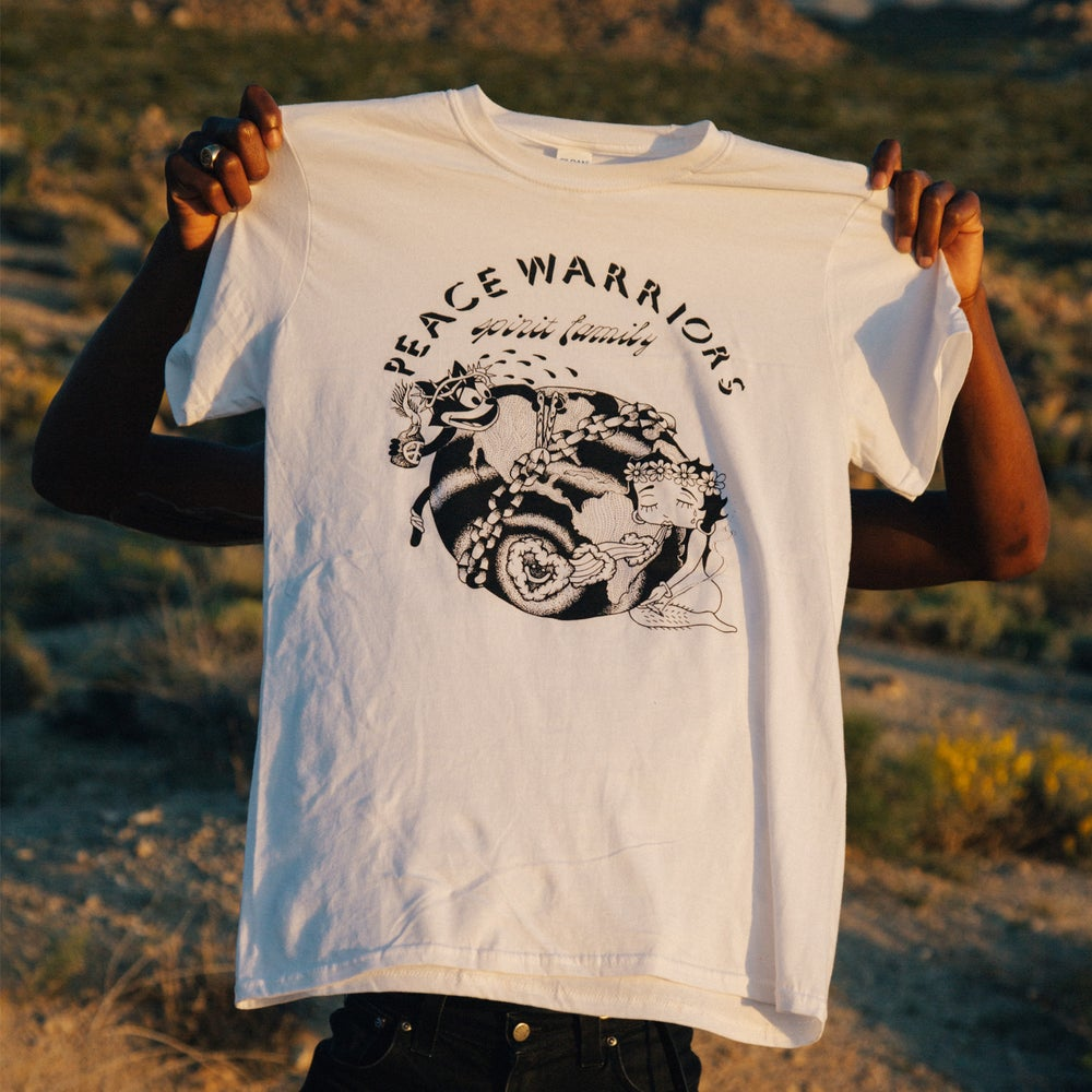 Image of Peace Warrior White Tee