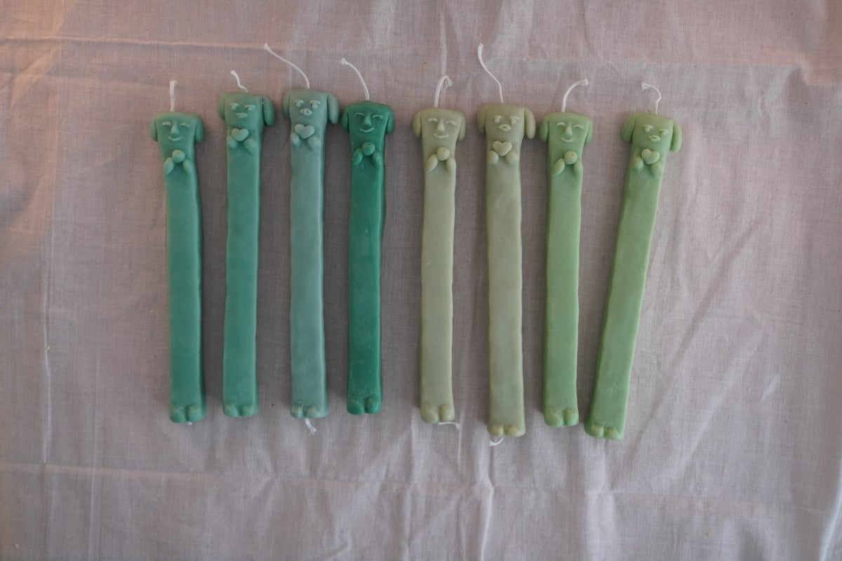 Image of Long Doggy Candles 4