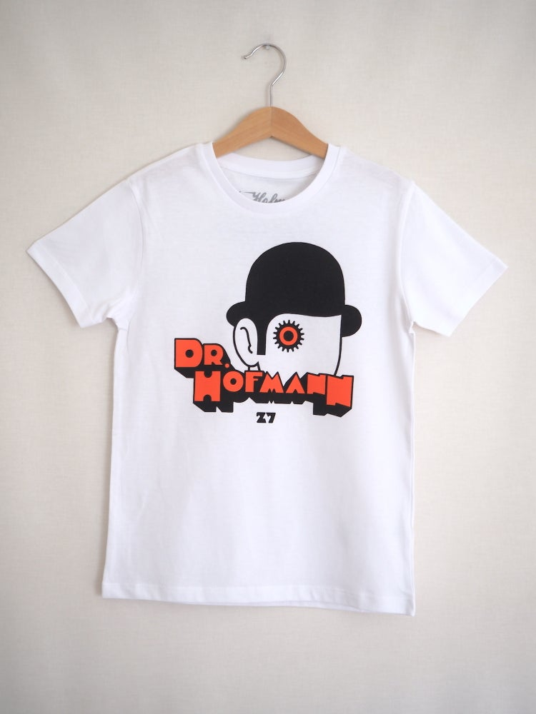 "Image of Kids ""CLOCKWORK ORANGE"" Tee - Organic Cotton - White"