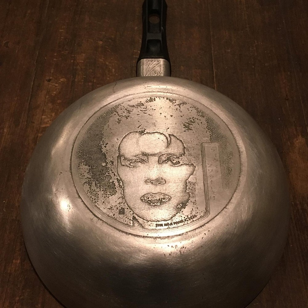 Bowie Etched Saucepan (Worldwide 1 of 1)