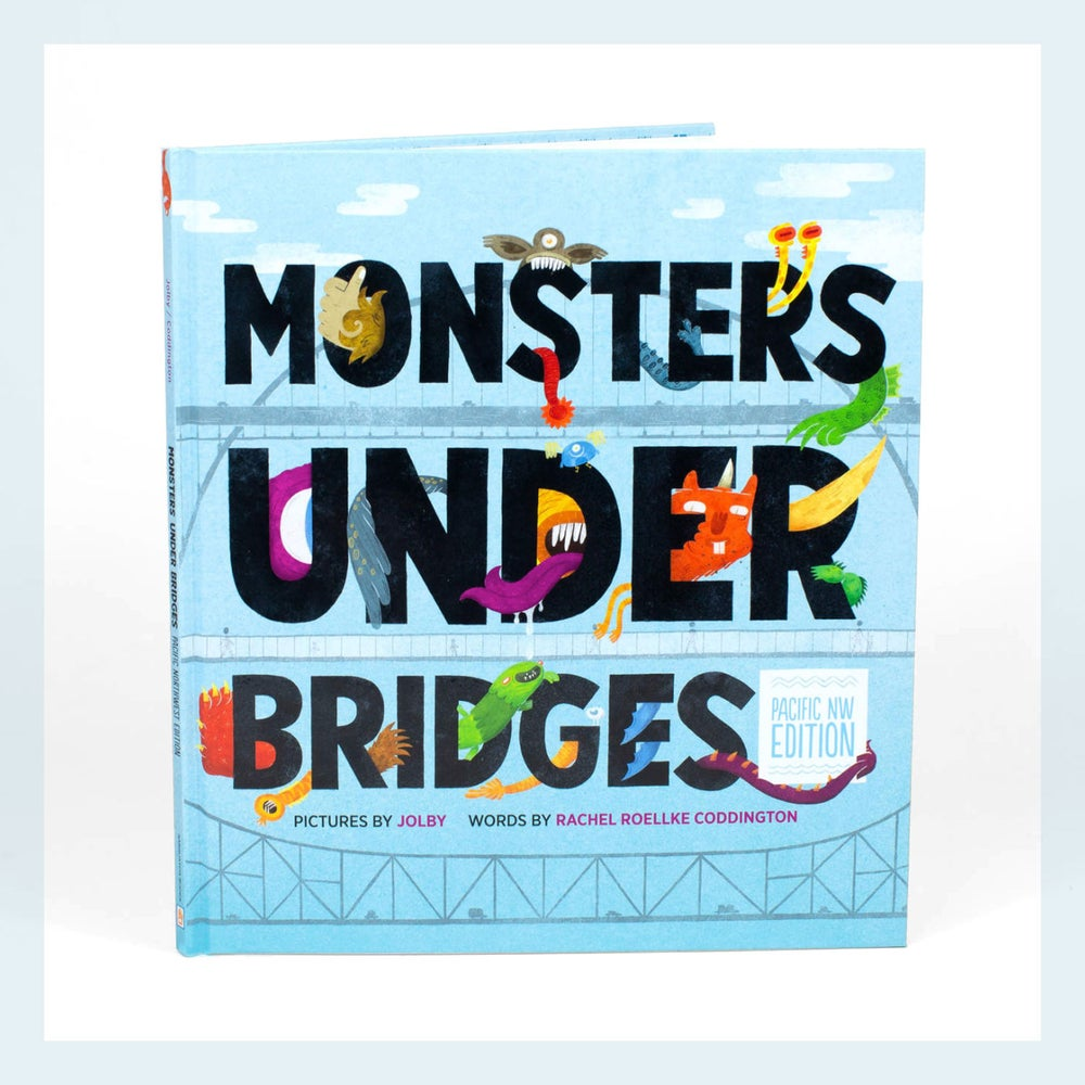Image of Monsters Under Bridges Children's Book
