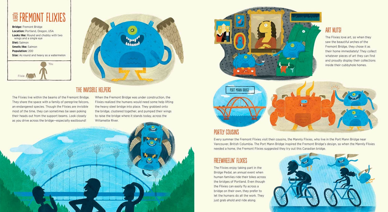 Image of Monsters Under Bridges Children's Book