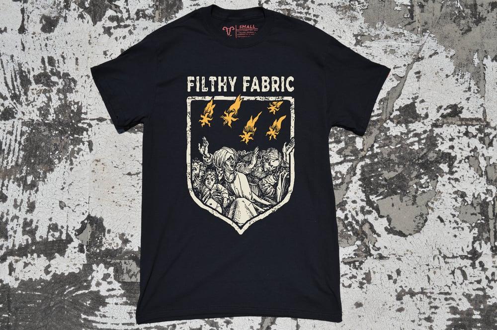 """Image of """"Golden Shower"""" Black T-shirt"""