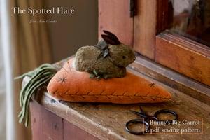 Bunny's Big Carrot ~ A PDF Pattern