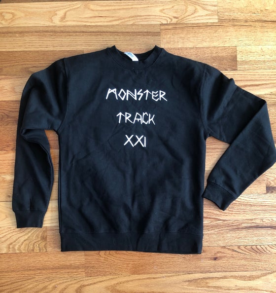 Image of Monster Track 21 crewneck
