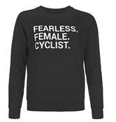Image of Veloine FEARLESS. FEMALE. CYCLIST. Sweater