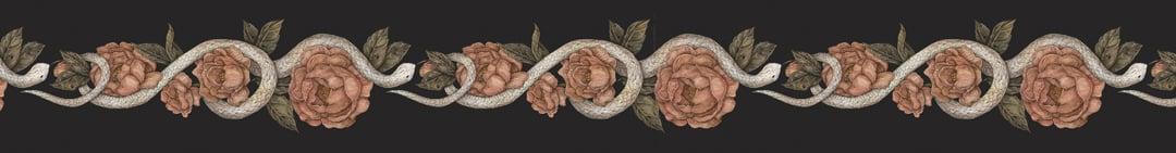 Image of Floral Snake Washi Tape