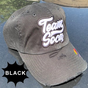 Image of Team Soca Varsity - Ripped Daddy Hat (Various Colors)