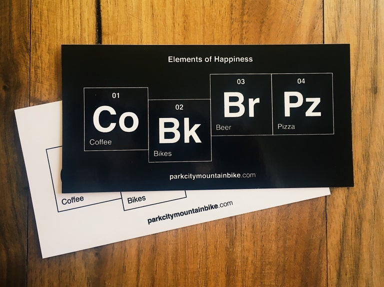Image of Elements of Happiness Stickers (Pack of 2)