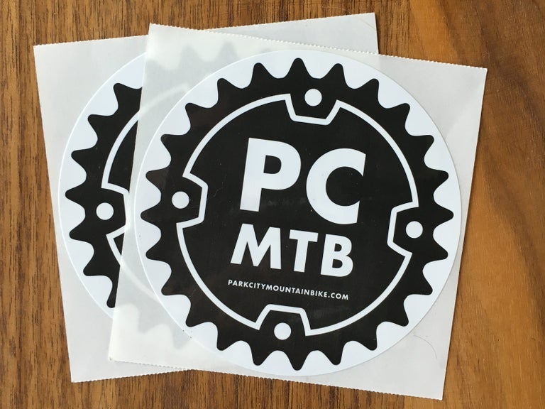 Image of PC MTB Stickers (Pack of 2)