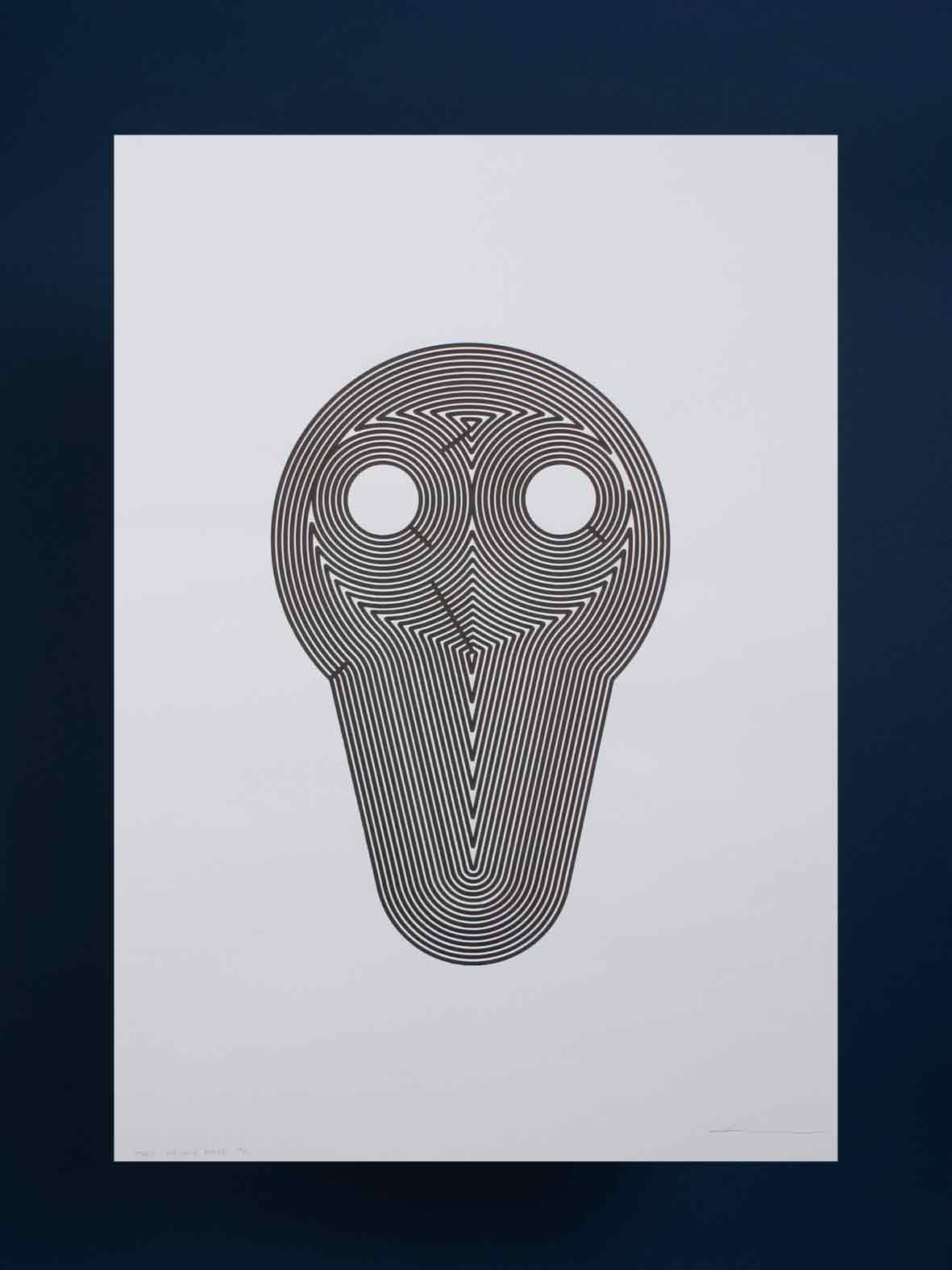 Doodle Mask Barbe