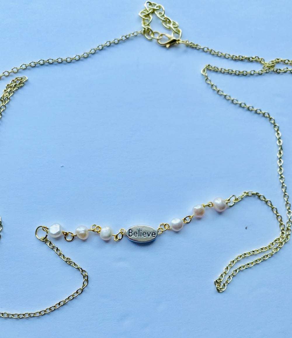 Image of Clutch your Pearls Body Chain