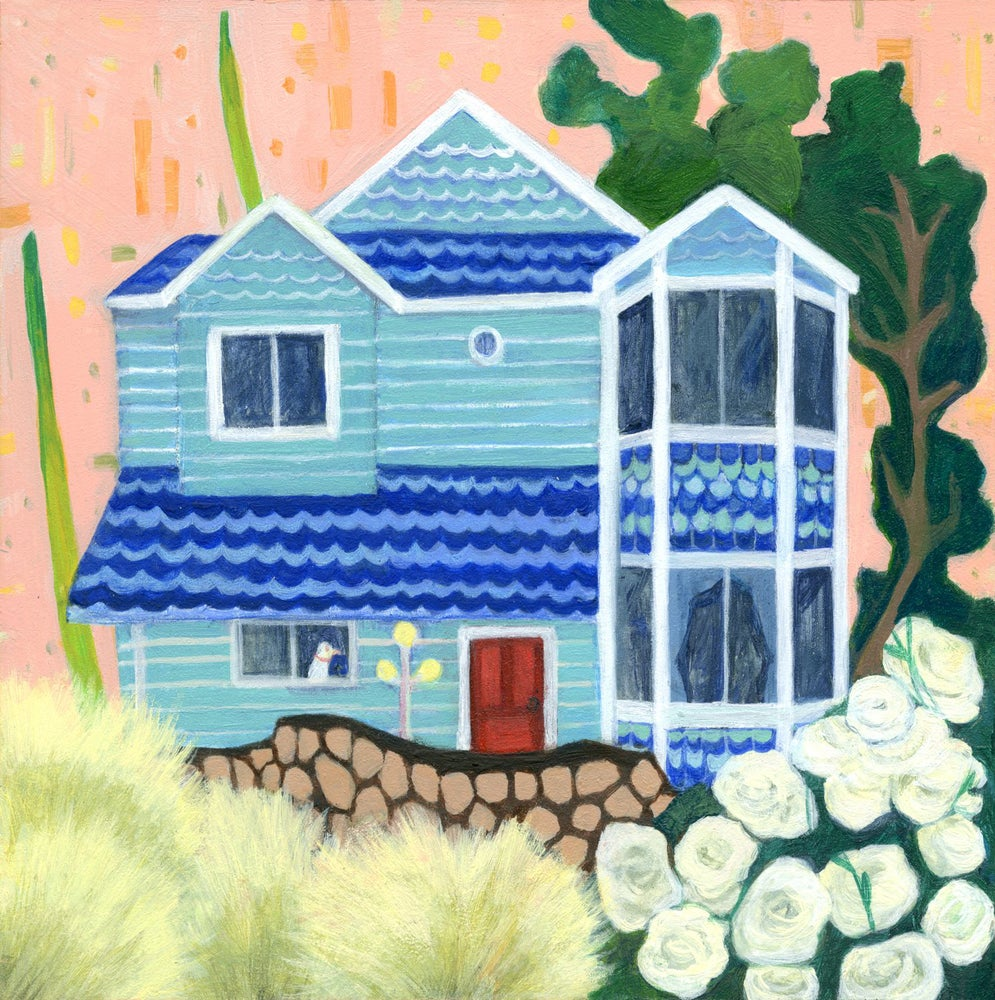 Image of Stay Home 1 Painting