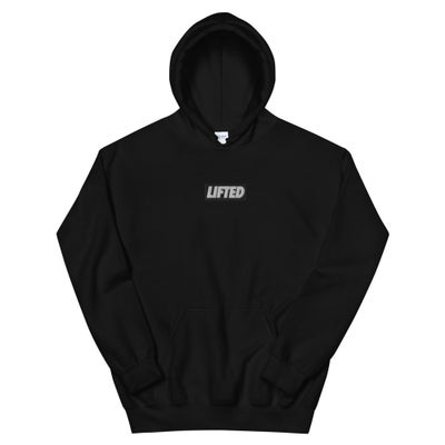Image of Embroidered Box Logo Hoodie