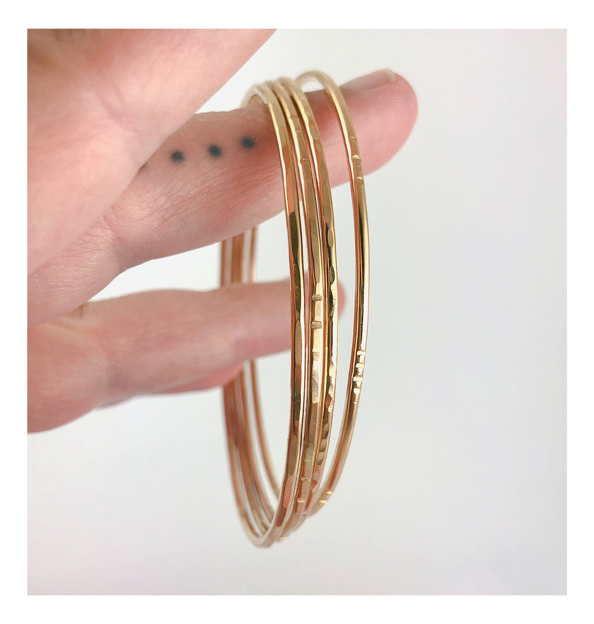 Image of Thick Gold Bangle
