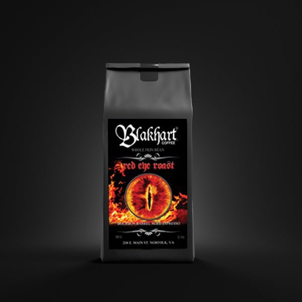 "Image of ""RED EYE ROAST"" ESPRESSO AGED IN BOURBON KEGS WHOLE BEAN"
