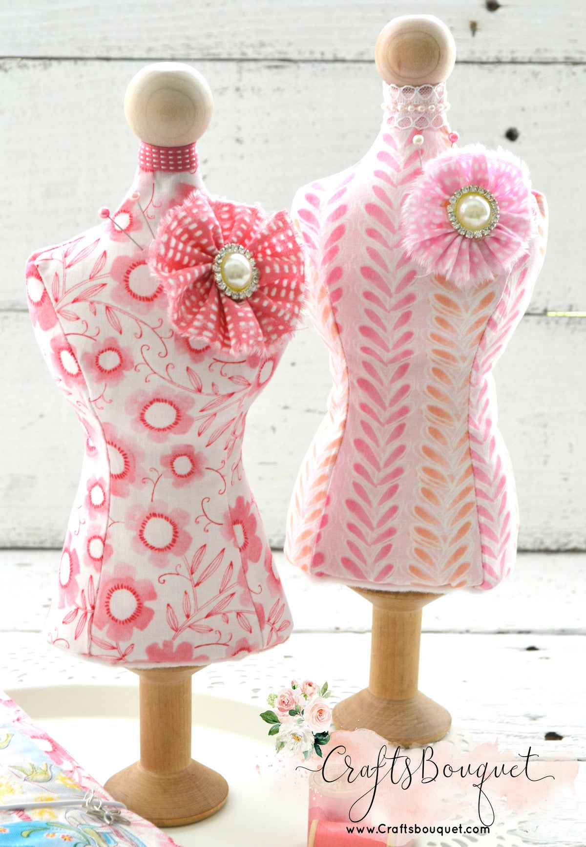 Image of Dress Form Pin Cushion