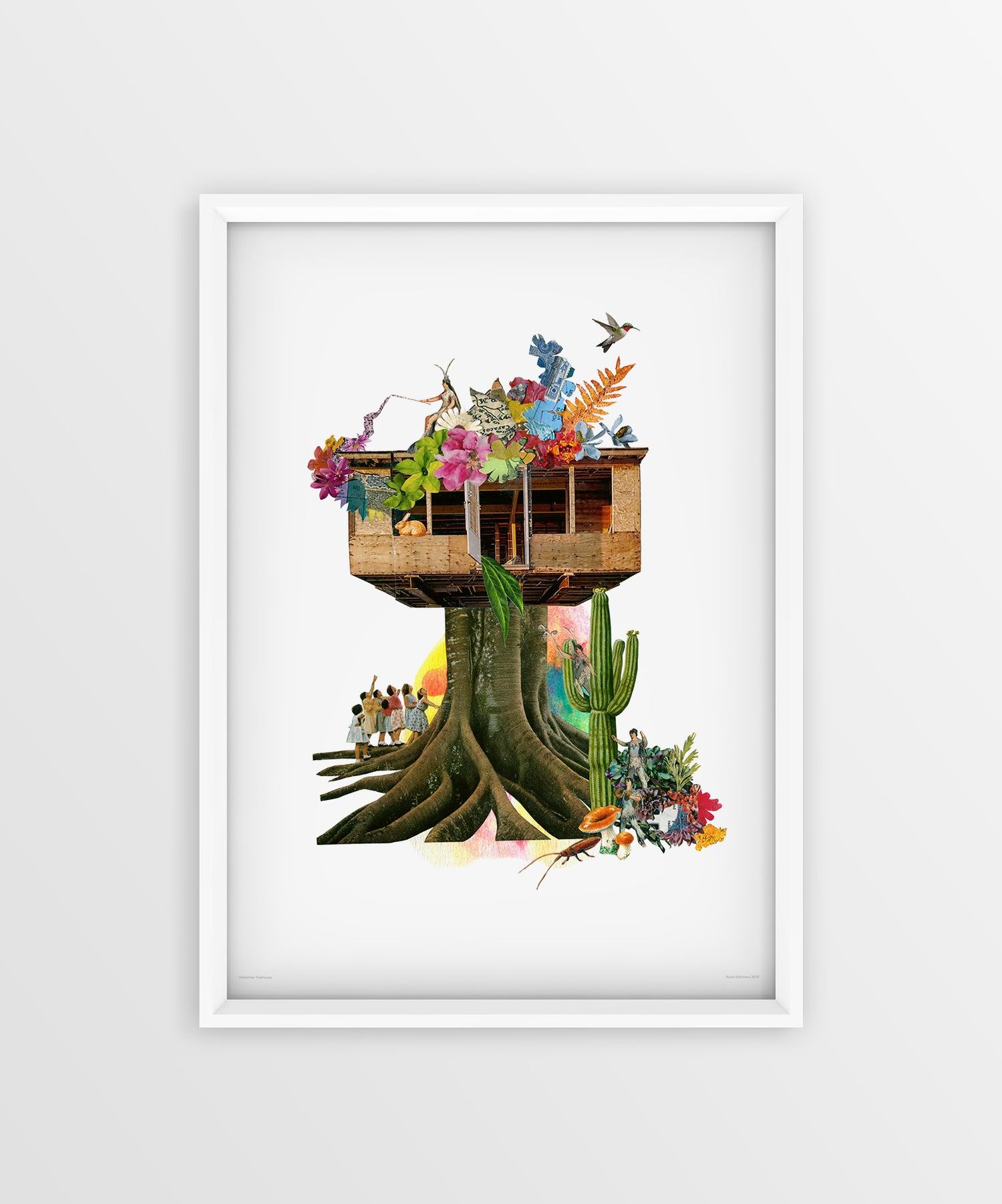 Image of Unfamiliar Treehouse Fine Art Print (signed)