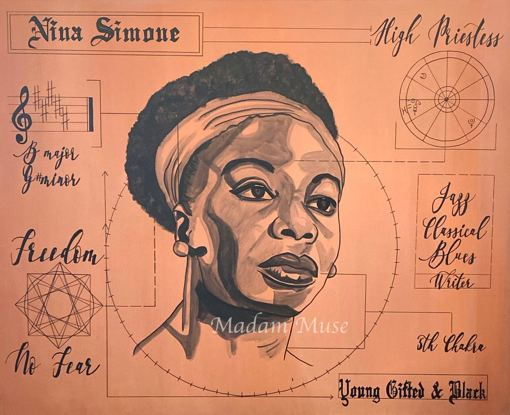 "Image of ""Nina Simone"" Blueprint Series Limited Edition Prints"