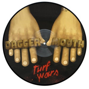 Image of Daggermouth ‎– Turf Wars LP (picture disc)