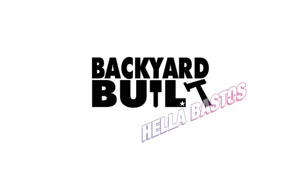 Image of Backyard Built Bargain Decal