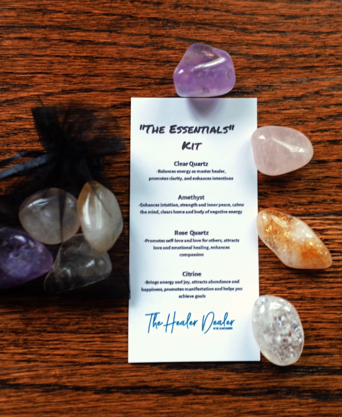 """Image of """"The Essentials"""" Crystal Kit"""