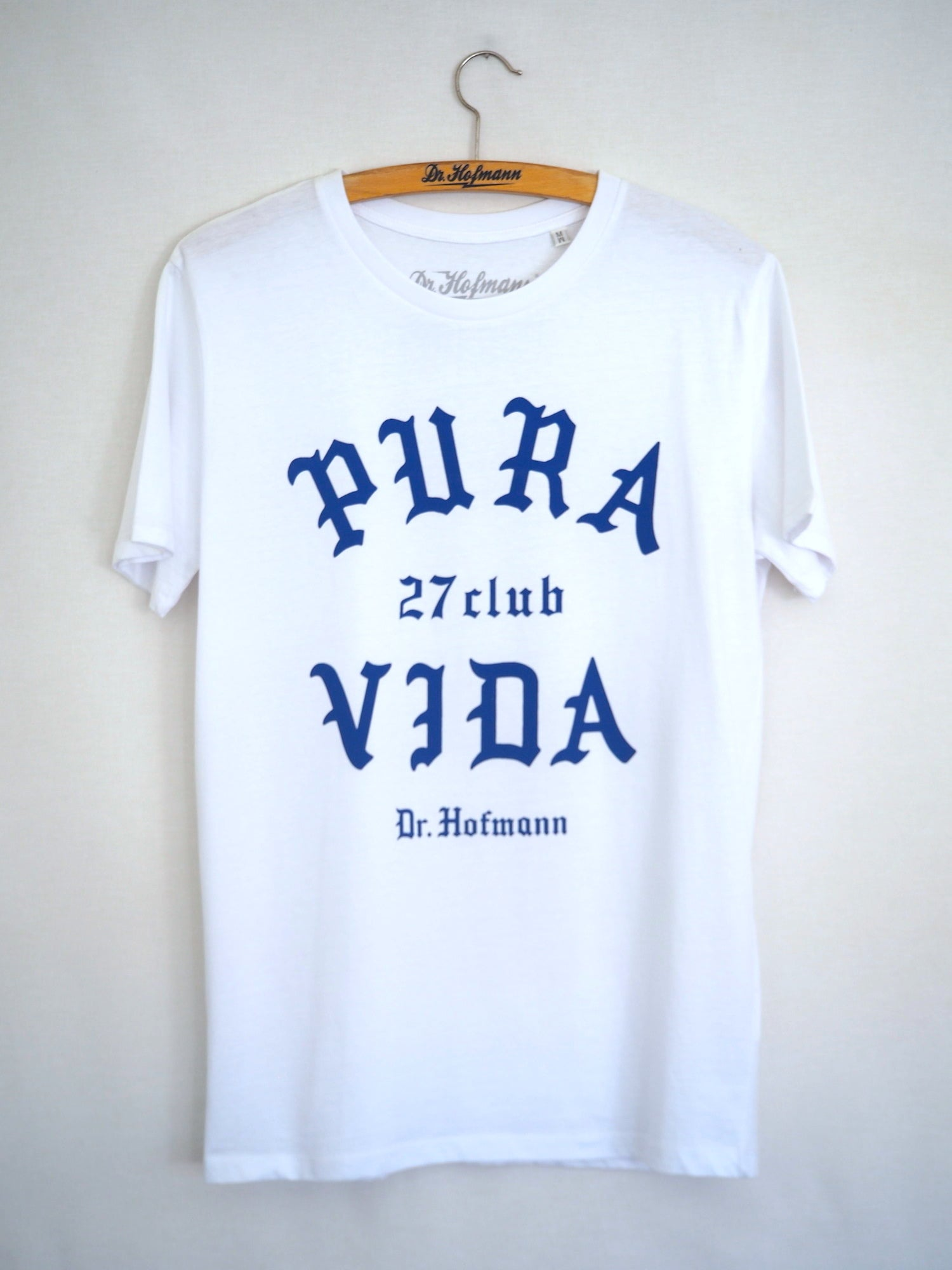 "Image of ""PURA VIDA"" Tee - Organic cotton - White"