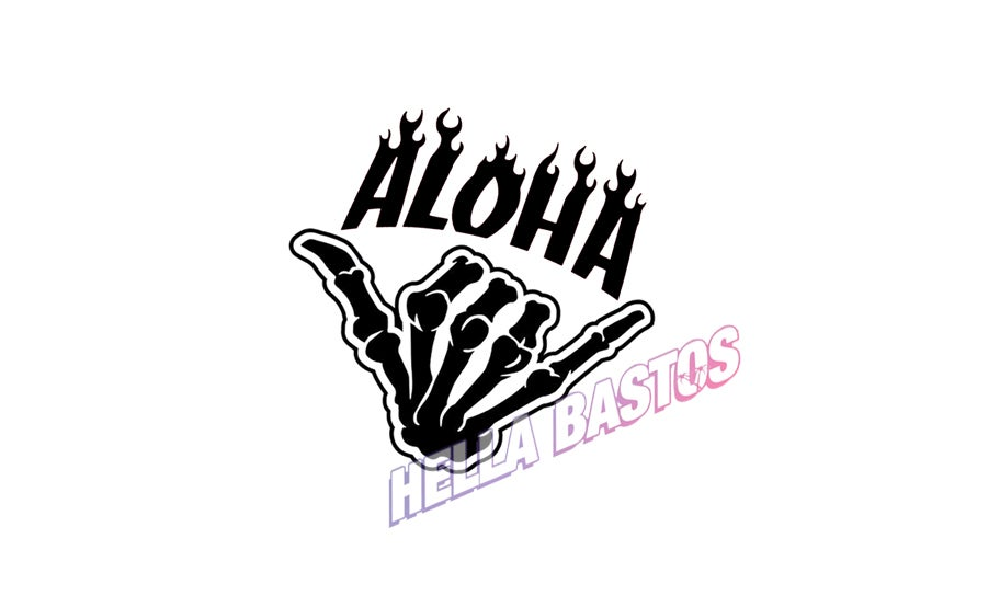 Image of Aloha Shaka Bargain Decal