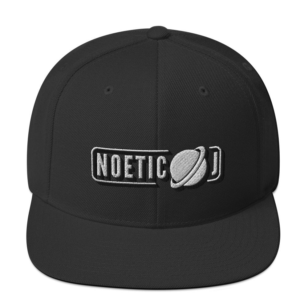Noetic J Snapback Embroidered Hat
