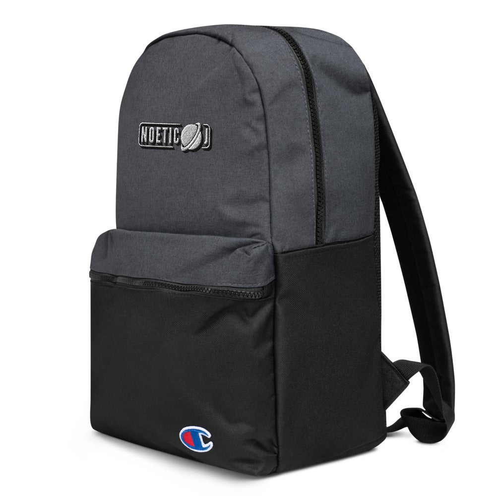 Noetic J Embroidered Champion Backpack