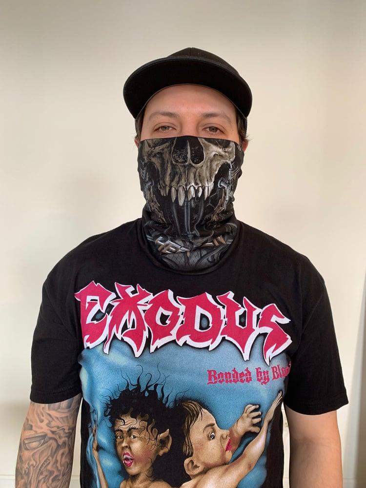 Image of Chaos Skull Neck Gaiter Face Mask