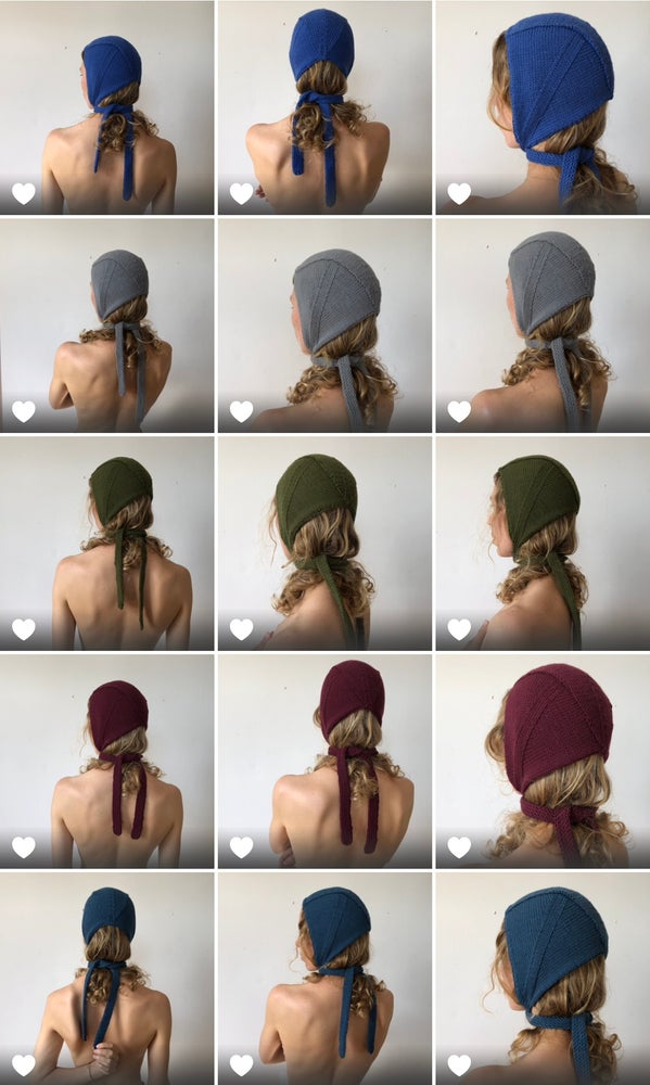 Image of Organic Lockdown Bonnets - Made to order