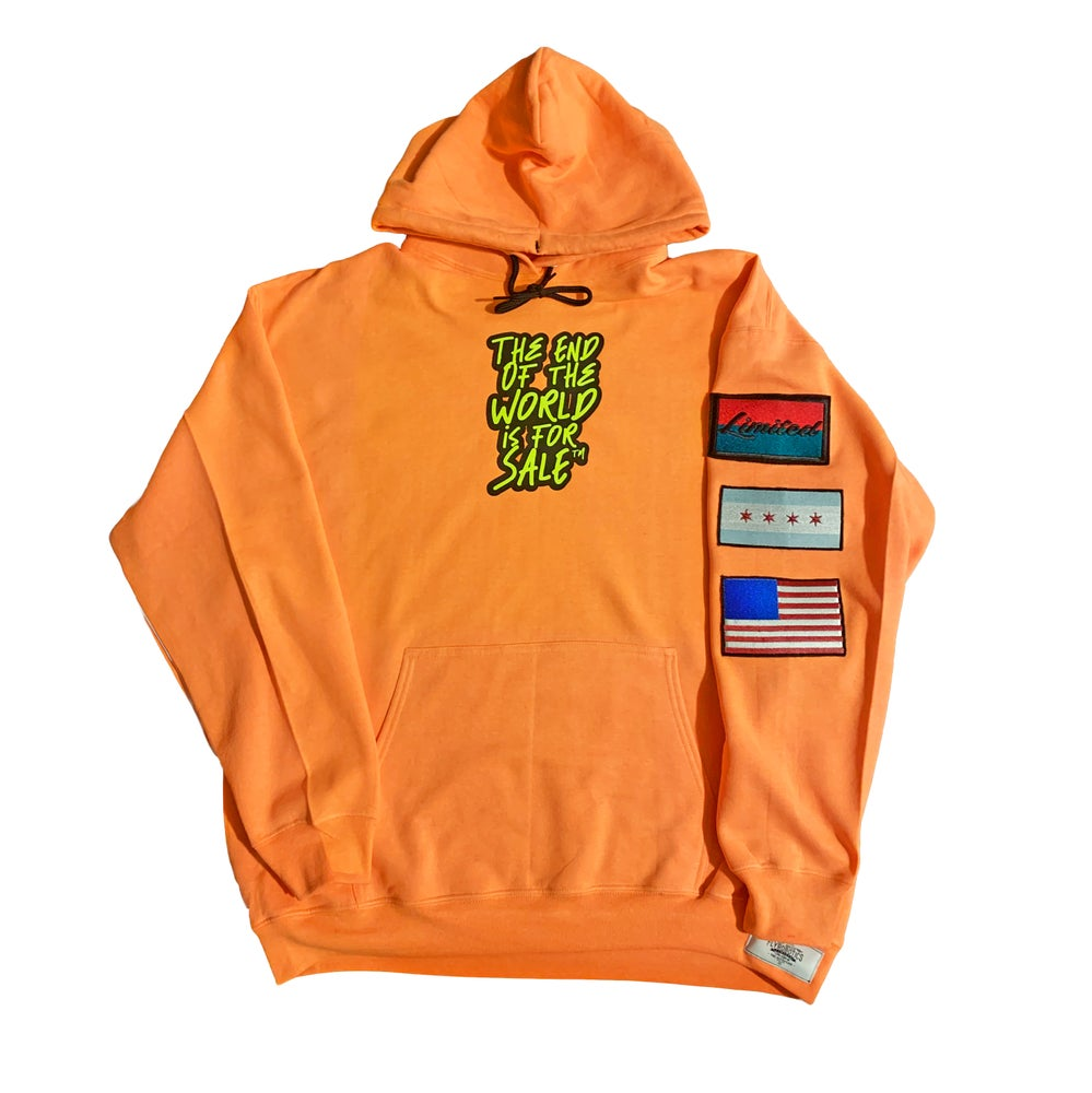 "Image of ""The End of the WRLD is 4 Sale"" Hoodie"