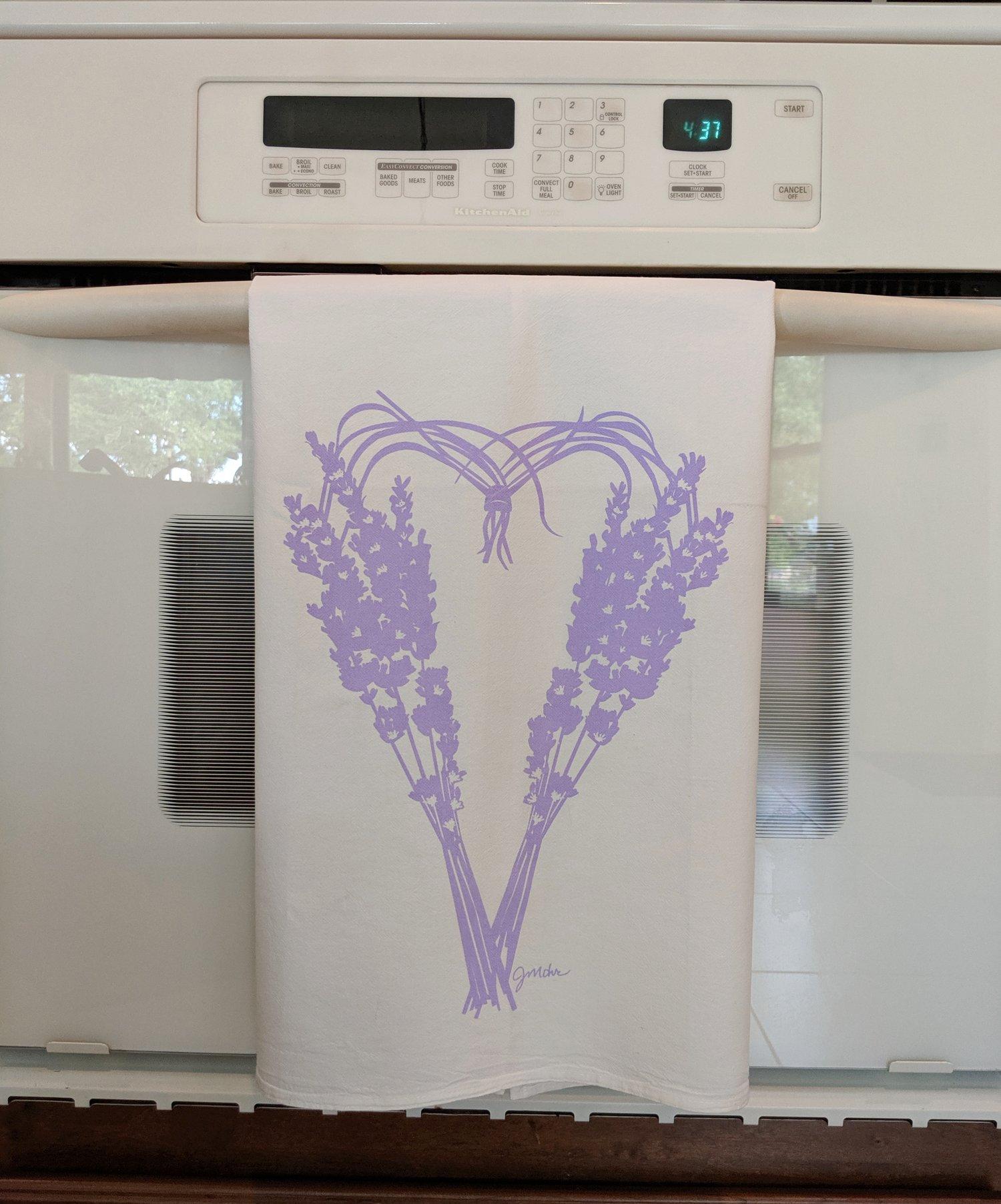 "Image of ""Lavender"" Dishtowel"