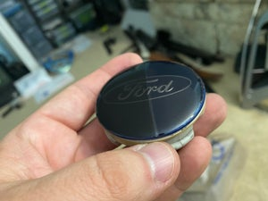 Image of Ford OEM Gunmetal Smoked Wheel Center Caps (4) (Edge, Escape, Focus, Fusion, etc.)