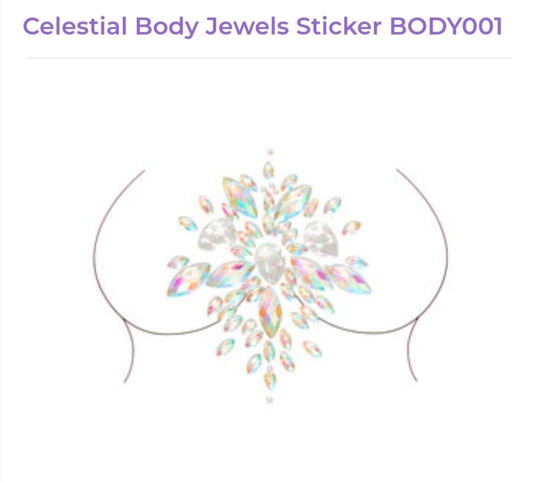 Image of Celestial Body Jewel Sticker