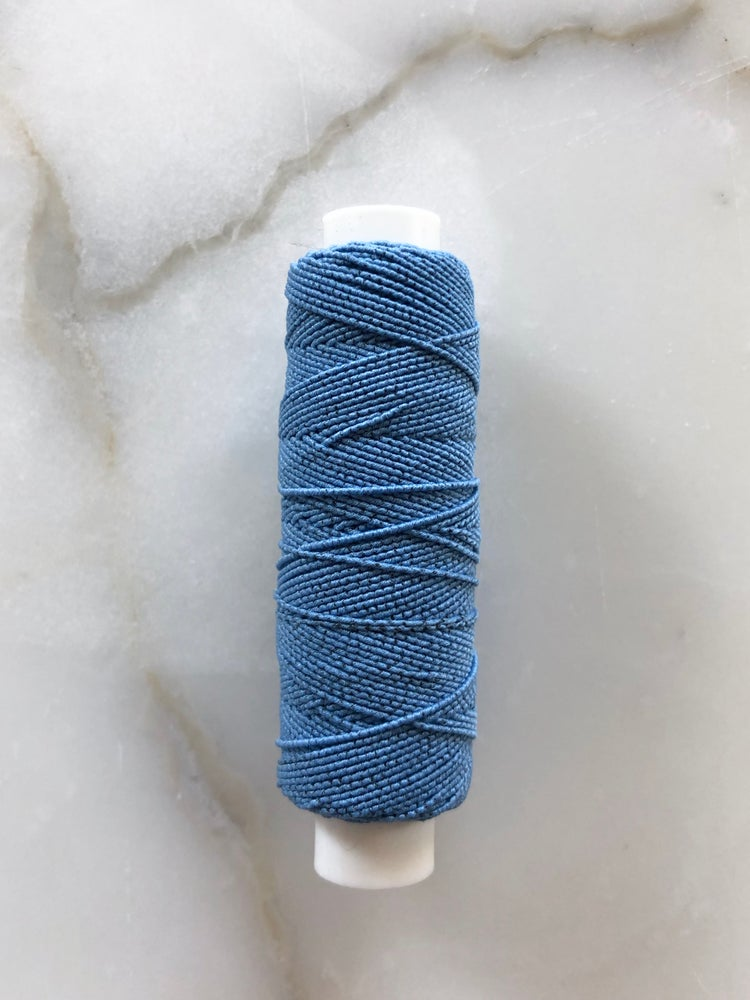 Image of Elastiktråd - Lys blå