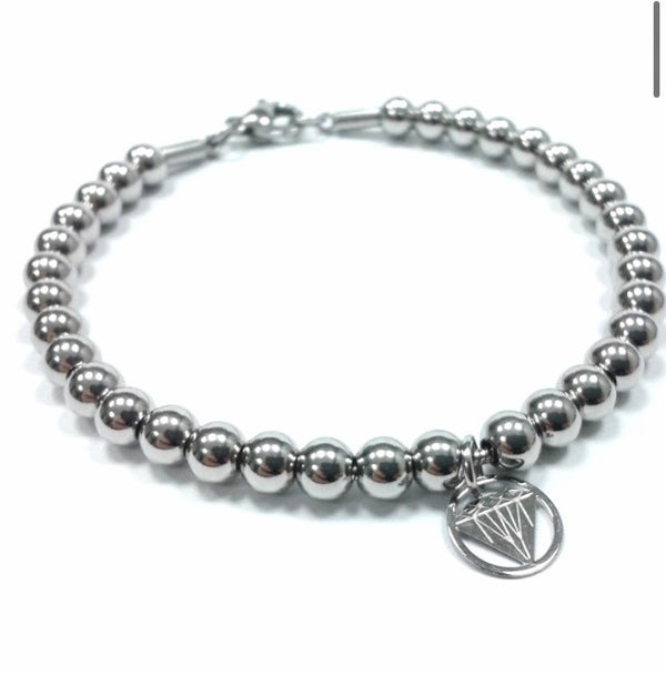 Image of Kugelarmband 5 mm Charm