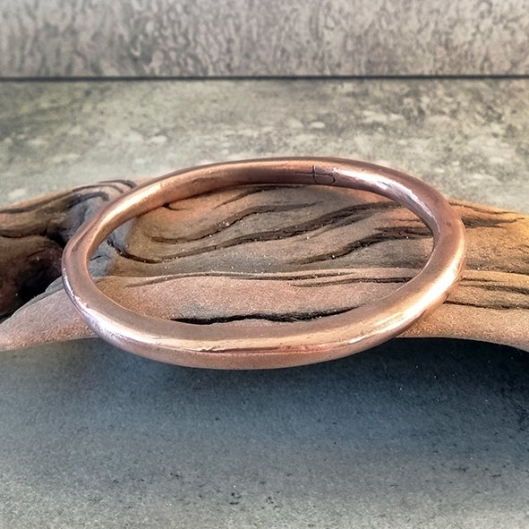 Image of #16 Copper Bangle - one of a kind