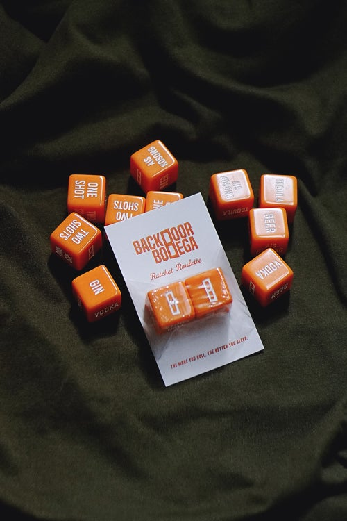 "Image of ""Ratchet Roulette"" Dice Set"