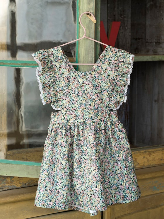 Image of VESTIDO BISCUIT LIBERTY GARDEN