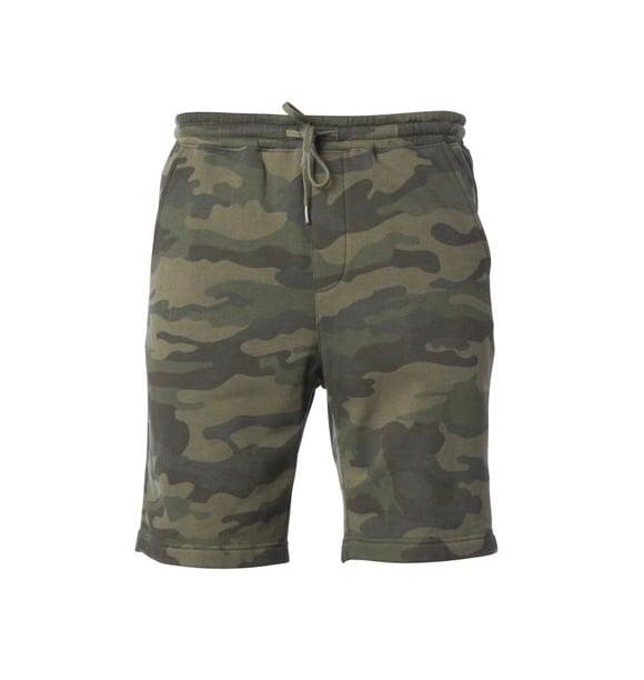 Camo Fleece Short