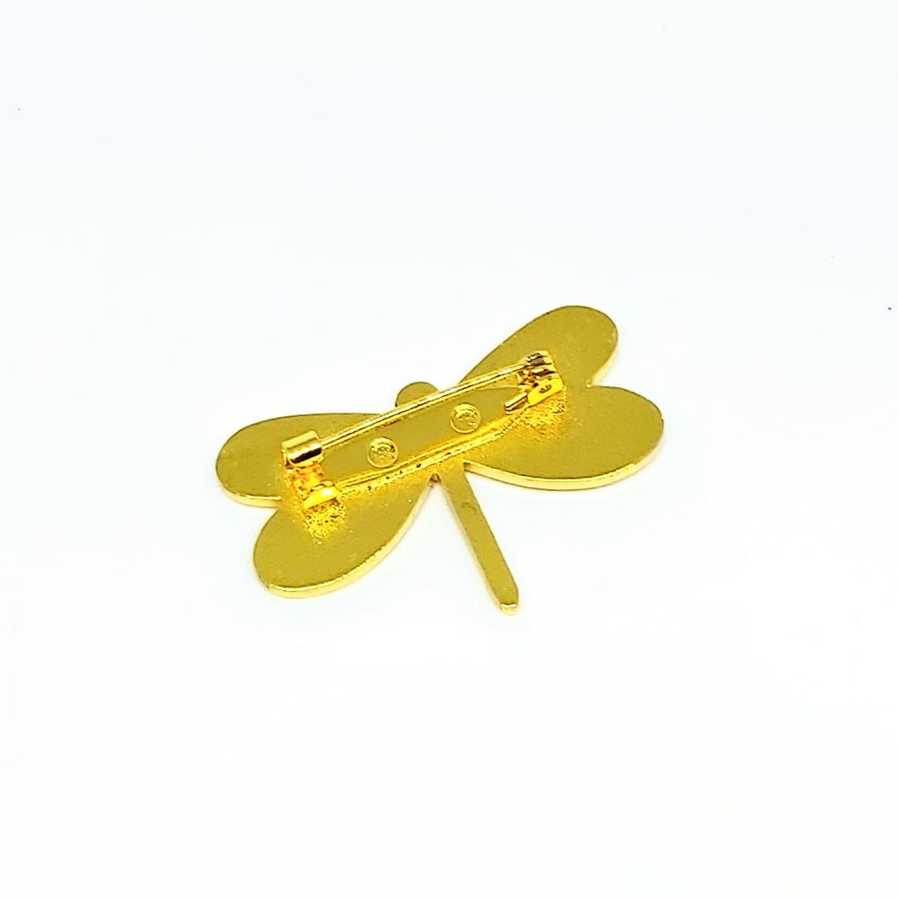 Image of SALE 50% OFF // Dragonfly Enamel Pin