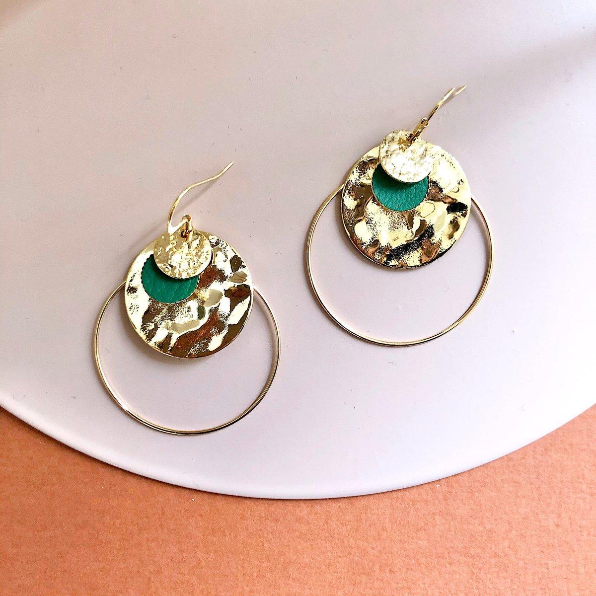 Boucles d'oreilles INES #2
