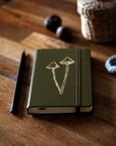 Image of GOLD EMBELLISHED HARDCOVER NOTEBOOK III